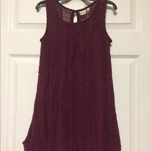 MUDD sleeveless dress